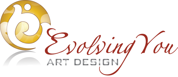 Evolving You Art Design by Gisela Backe